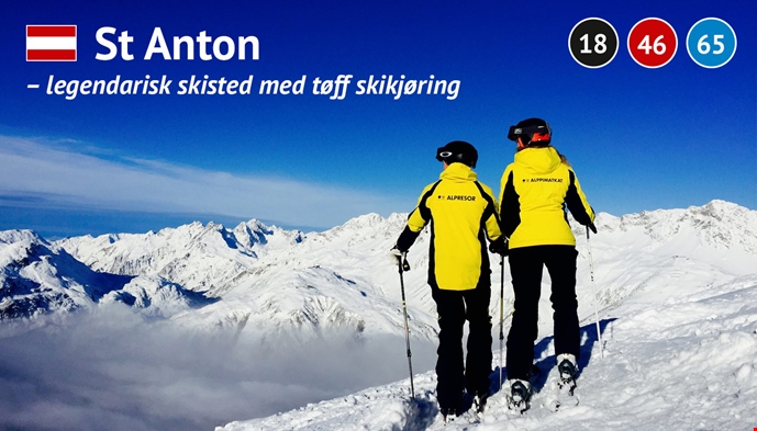 St. Anton Best of the Alps Alpene skikjøring offpist
